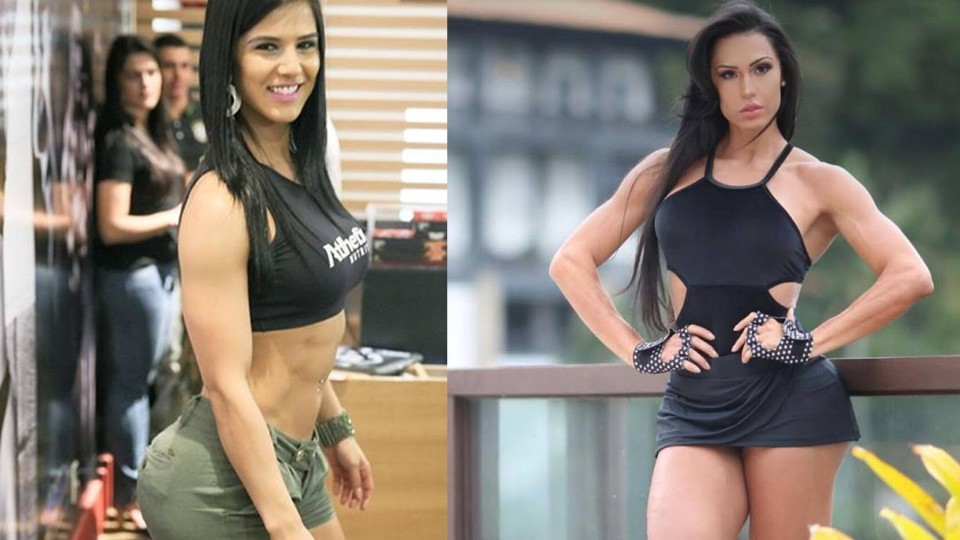 "Female Fitness Motivation – ""Gracyanne Barbosa Vs Eva Andressa"" 2015"
